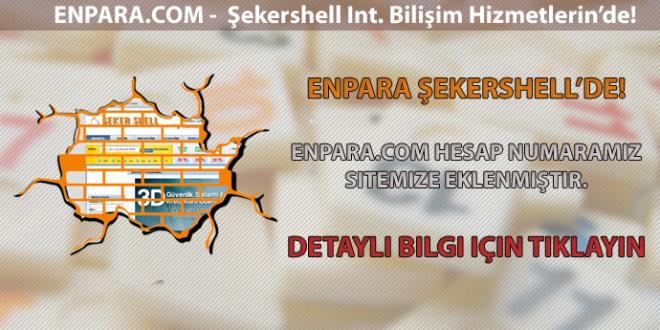 FinansBank/EnPara – Şekershell'de!